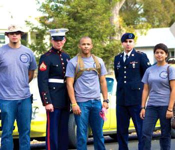 Veterans at UC Merced
